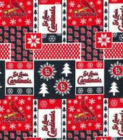 Christmas St. Louis Cardinals Cotton Fabric-Winter, , hi-res