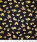 Premium Cotton Fabric -Mini Poppies
