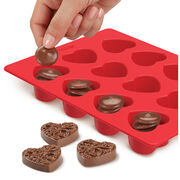 Wilton Candy Melt Stack 'N Melt Candy Mold-Heart, , hi-res