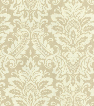 "Waverly Upholstery Fabric 54""-Donnington/Linen"