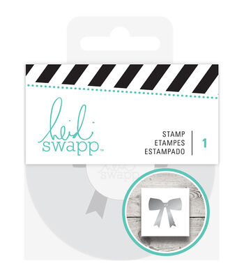 Heidi Swapp Gift Wrapping Stamp-Bow