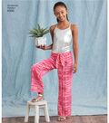 Simplicity Pattern 8390 Misses\u0027 & Girls\u0027 Pants-Size A (S-L/XS-XL)