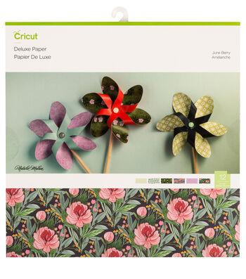 Cricut Deluxe Paper-Natalie Malan Juneberry