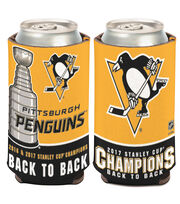 Pittsburgh Penguins Stanley Cup Champions 4''x8'' Can Cooler, , hi-res