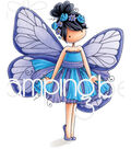 Stamping Bella Cling Stamps-Blanche The Butterfly