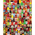 White Mountain Puzzles Jigsaw Puzzle-99 Bottles of Beer on The Wall