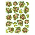 Lively Monkeys Sparkle Stickers-Large 12 Packs