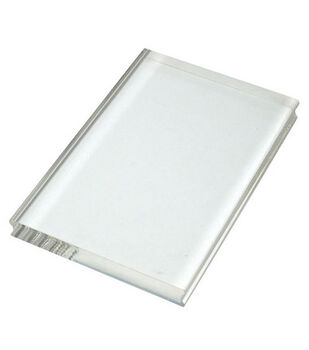 """Perfectly Clear 4""""x6"""" Stamp Block-Large Rectangle"""