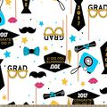 2017 Congratulations Graduate Print Fabric