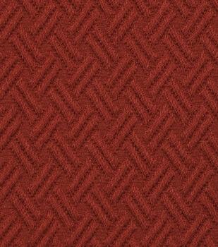 """Jaclyn Smith Upholstery Fabric 54""""-Lane /Crimson"""
