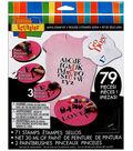 Scribbles Alphabet Stamp Kit