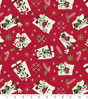 Disney Mickey & Minnie Holiday Cotton-Vintage, , hi-res