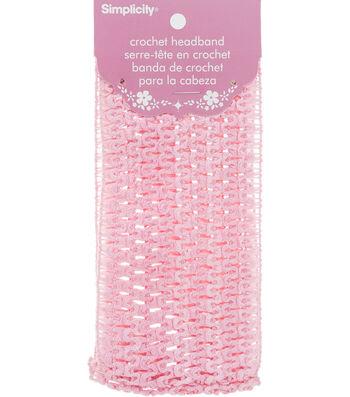 Crochet Headband Pink