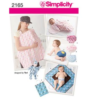 Simplicity Pattern 2165A All Sizes -Simplicity Crafts
