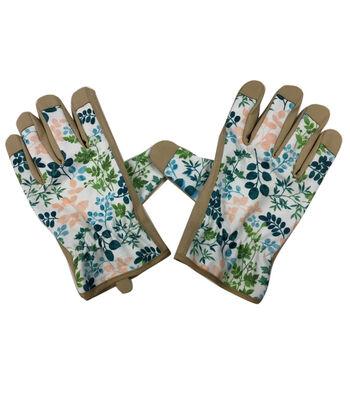 Hello Spring Gardening Gloves-Fern Print