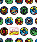 Marvel Comics Flannel Fabric-Badges