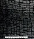 The Witching Hour Halloween Fabric 58\u0022-Crocodile Foil Black