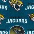Jacksonville Jaguars Fleece Fabric -Teal