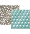 We R Memory Keepers Next Level Gemstone Embossing Folders 6\u0027\u0027x6\u0027\u0027