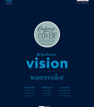 "Strathmore 11""x14"" Vision Watercolor Pad"