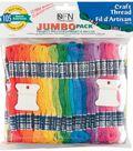 Jumbo Value Pack Craft Thread 105 Skeins