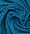 Loungeletics Stretch Terry Performance Fabric -Heather Blue