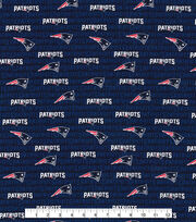 New England Patriots Cotton Fabric -Mini Print, , hi-res