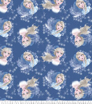 Disney Frozen Fleece Fabric-Elsa Toss, , hi-res