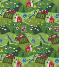 Novelty Cotton Fabric 44\u0027\u0027-On The Farm