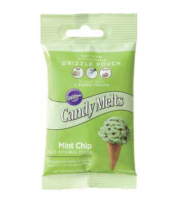 Wilton® Drizzle Pouch 2oz-Mint Chocolate Chip