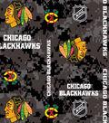 Chicago Blackhawks Fleece Fabric-Digital Camouflage