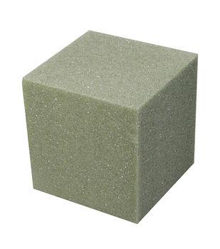 """Foam Cube Green - 5"""" x 5"""" x 5"""""""
