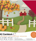 American Crafts Variety Cardstock Pack 12\u0022X12\u0022-Autumn