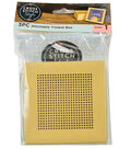 Cross Stitch Style Stitchable Trinket Box-Kraft