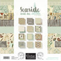 Couture Creations Double-Sided Paper Pad 12\u0022X12\u0022 24/Pkg-Seaside And Me