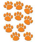 Orange Paw Prints Accents, 30/pk, Set Of 6 Packs