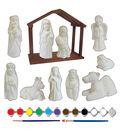 Little Maker\u0027s Plaster Kit-Nativity