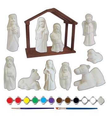 Little Maker's Plaster Kit-Nativity