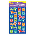 Happy Hoppers superShapes Stickers-Large 168 Per Pack, 6 Packs