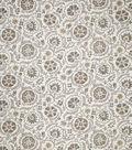 Jaclyn Smith Upholstery Fabric 54\u0022-Clarinet/Gray