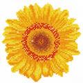 Diamond Embroidery Facet Art Kit 9.7\u0022X9.7\u0022-Happy Day Sunflower