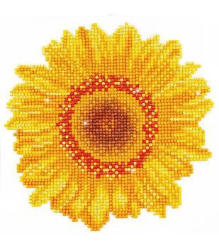 "Diamond Embroidery Facet Art Kit 9.7""X9.7""-Happy Day Sunflower"