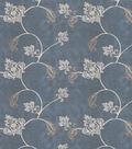 Home Decor 8\u0022x8\u0022 Fabric Swatch-Print Fabric Eaton Square Married Teal
