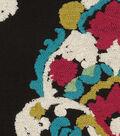 Waverly Upholstery Fabric 13x13\u0022 Swatch-Folk Lure Emb Fiesta