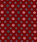 Snuggle Flannel Fabric -Joy Trellis Geo