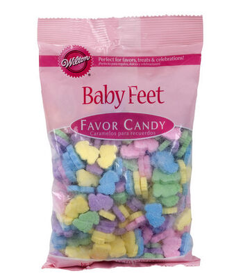 Wilton Baby Feet Favor Candy