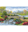 Summer View Counted Cross Stitch Kit-15\u0022X10.25\u0022 14 Count