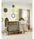 Wall Pops Baby Blue Dot Decals, 8 Piece Set
