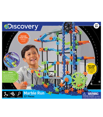 Discovery 321pc Marble Run