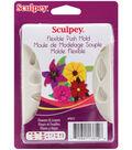 Sculpey Flexible Push Mold-Flowers & Leaves